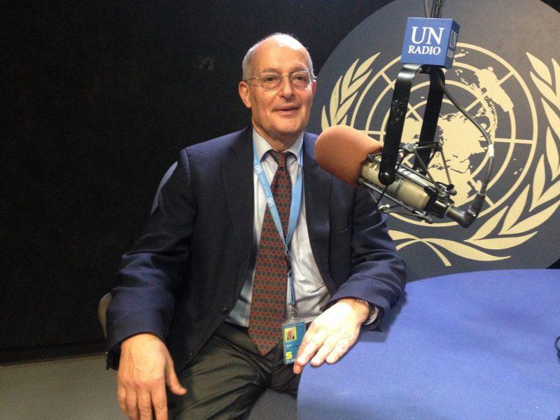 Специальный докладчик по правам человека в Беларуси Миклош Харасти. Фото Фото Службы новостей ООН