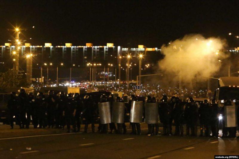 Минск, 9 августа, Фото: Владимир Гридин,