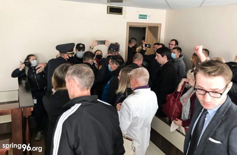 Момент задержания Владислава Евстегнеева. Фото: spring96.org