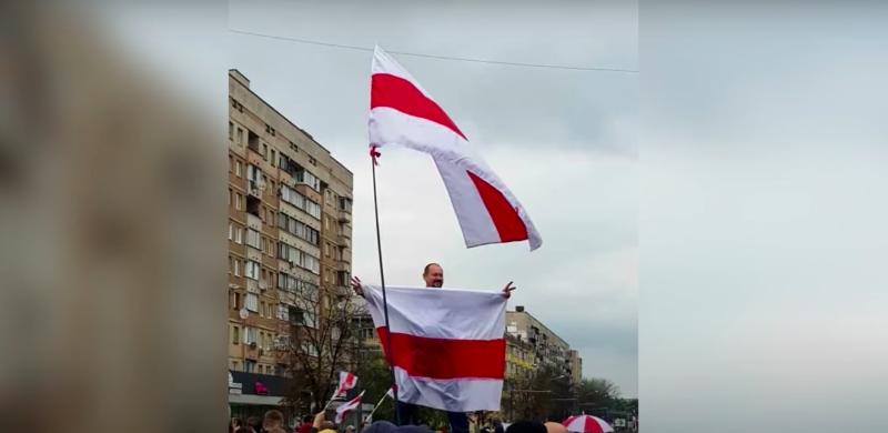 Алексей Муравицкий на Марше 25 октября