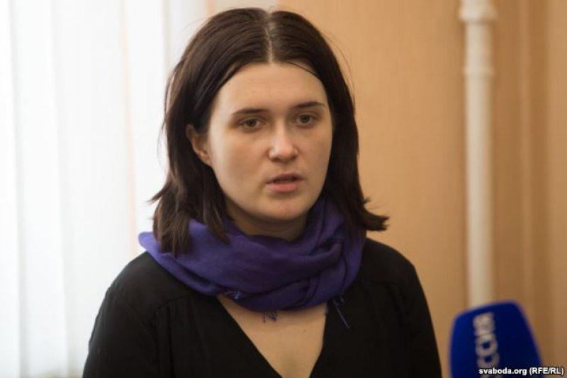 Наста Дашкевіч. Фота: svaboda.org