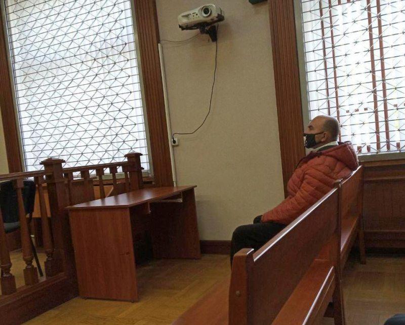 Владимир Невмержицкий в суде