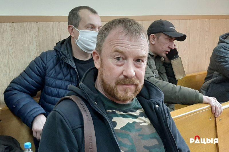 Andrei Novikau. Photo: Radio Racyja