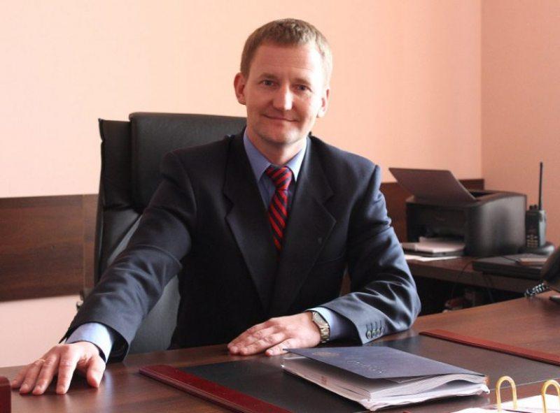 Начальник ОВД Ленинского района г. Гродно Олег Карпушкин