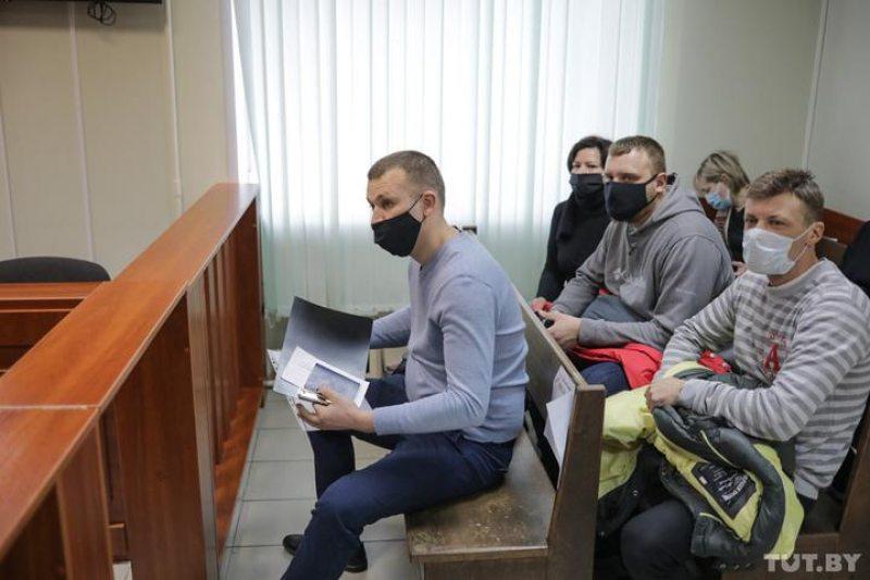 Потерпевший инспектор ГАИ Максим Завадский. Фото: tut.by