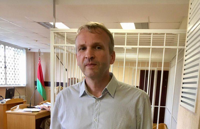 Васіль Палякоў у судзе