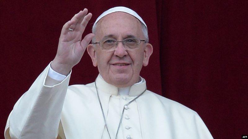 Папа Рымскі Францыск. Фота: svoboda.org