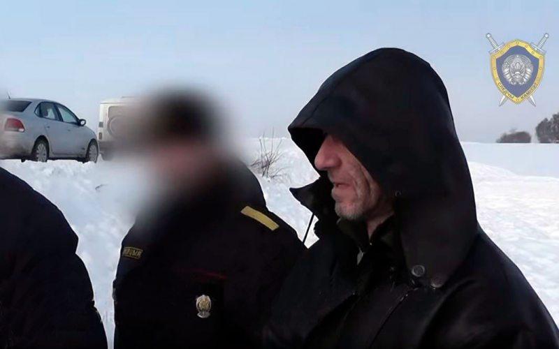 Виктор Павлов. Скриншот из видеосюжета на ютуб-канале Следственного комитета РБ.