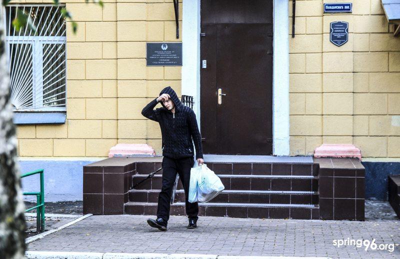 Павел Гарбуз после освобождения из