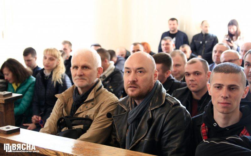 Суд над Сяргеем Пятрухіным. Фота: ПЦ