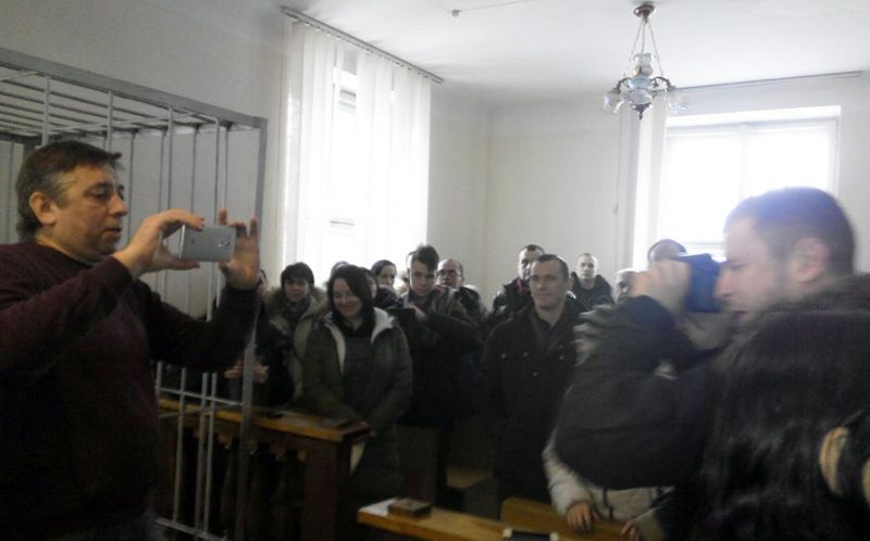 Суд над Сяргеем Пятрухіным.
