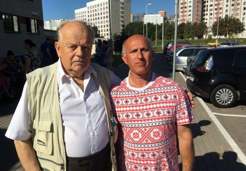 Станислав Шушкевич и Игорь Комлик. Фото: ПЦ