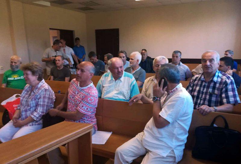 В суде по делу профсоюзов 10 августа. Фото: ПЦ