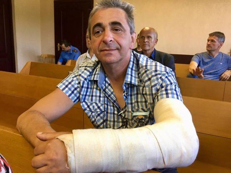 Активист Леонид Кулаков в суде по