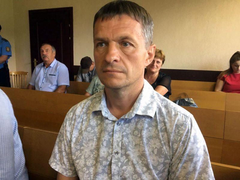 Правозащитник Олег Волчек в суде. Фото: ПЦ