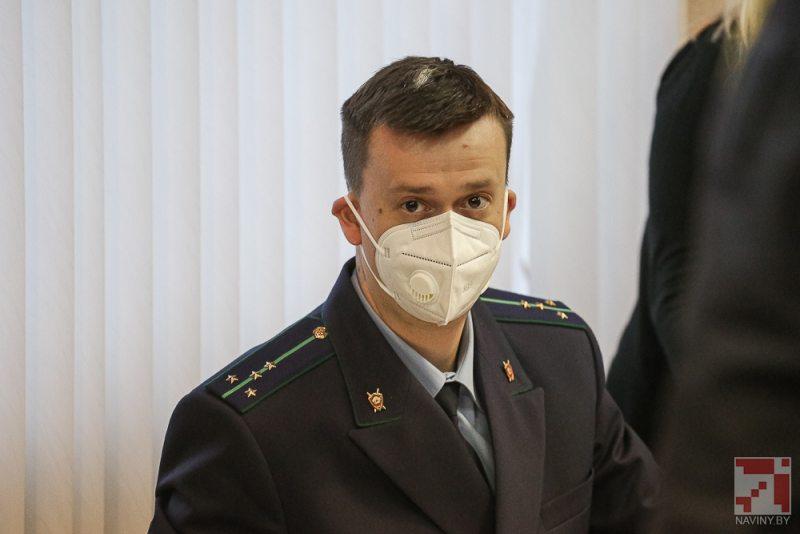 Госвобвинитель Антон Тюменцев. Фото: naviny.by