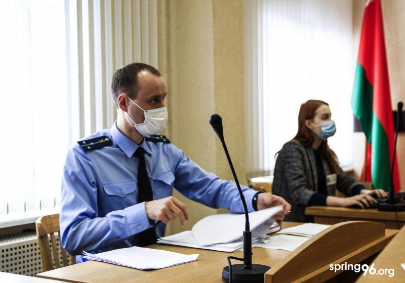 Прокурор Александр Романович. Фото: spring96.org