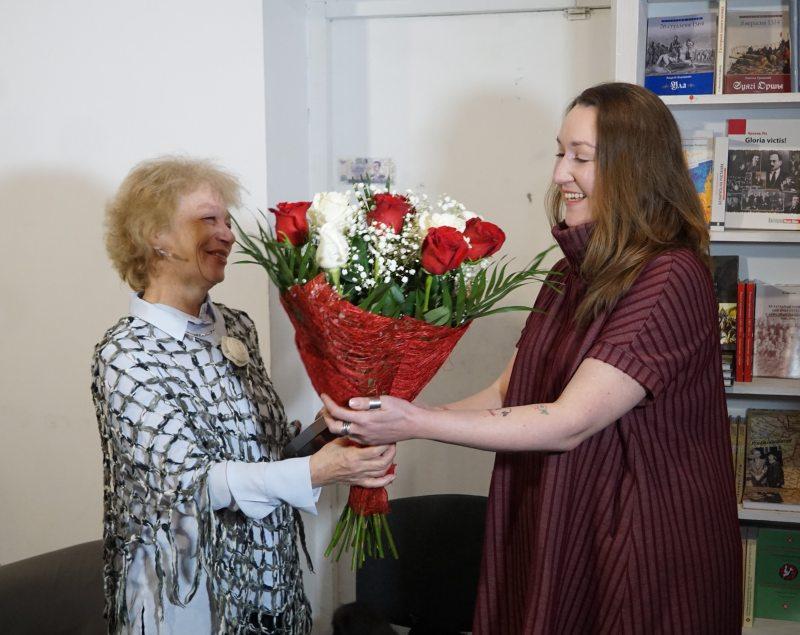 Тамара Сідарэнка і Юлія Дарашкевіч