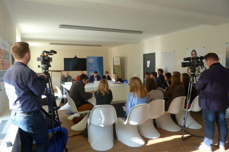Пресс-брифинг в офисе ООН при ЕС. 6 февраля 2017