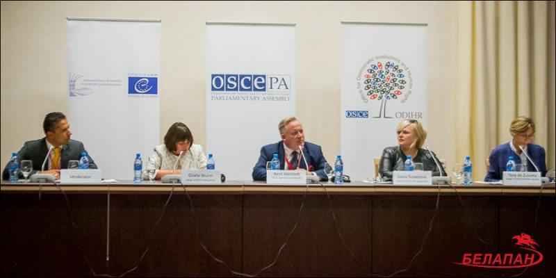 Пресс-конференция БДИПЧ ОБСЕ в Минске 12 сентября 2016