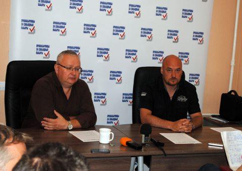 """Пресс-конференция координаторов кампании """"Правозащитники за свободные выборы"""""""