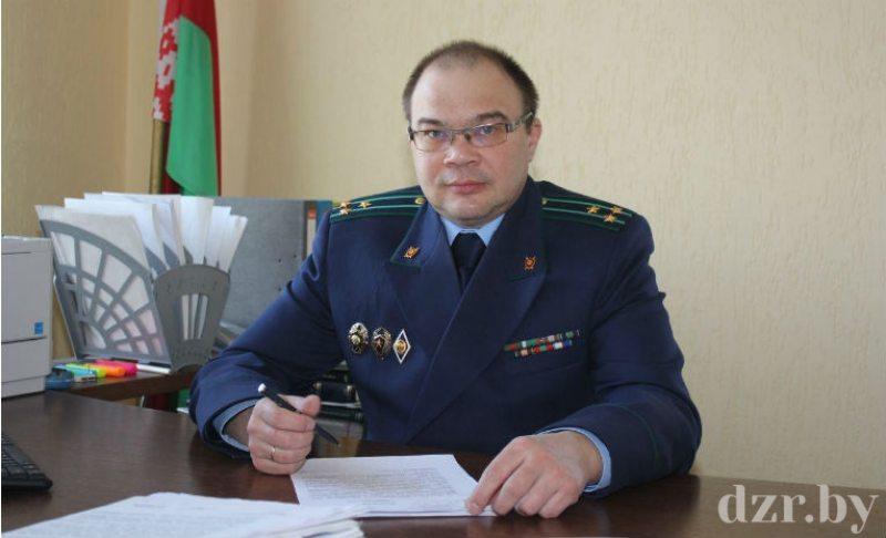Пракурор Дзяржынскага раёна Эдуард Свентухоўскі