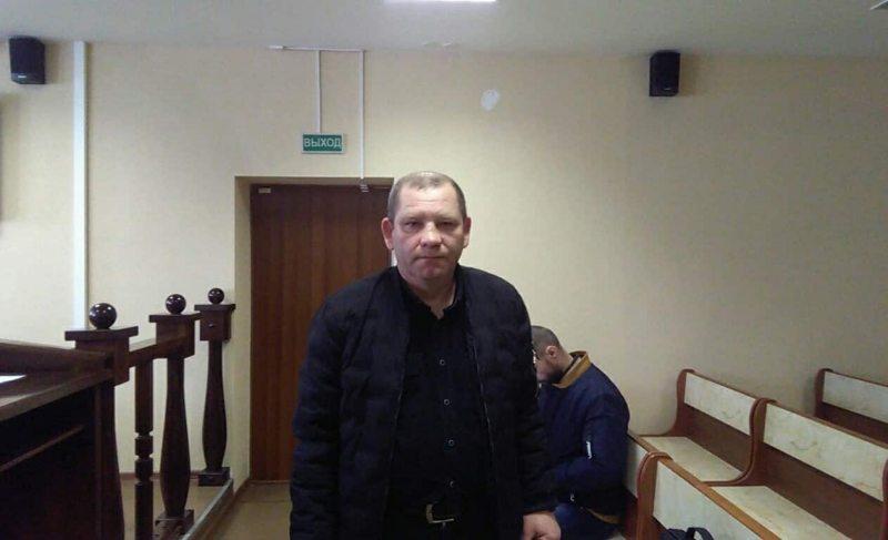 Валерый Рабцаў у судзе