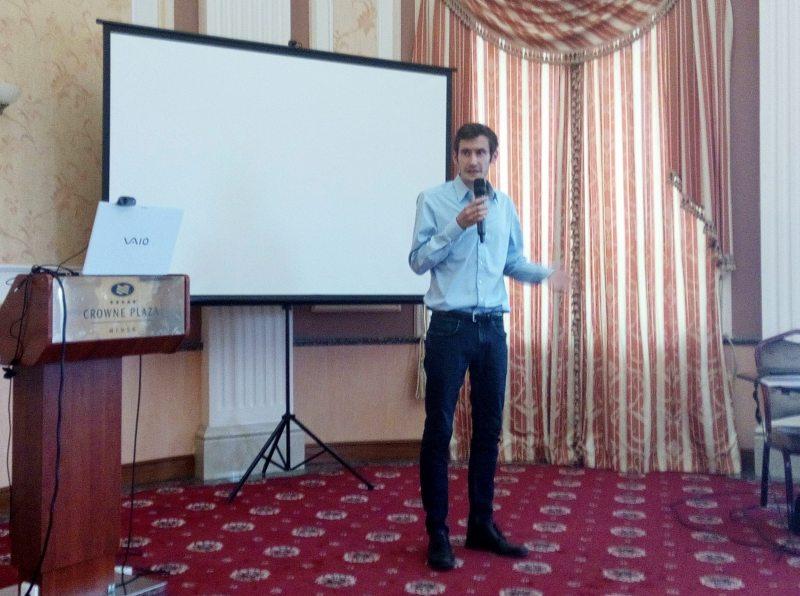 Райнер Бобан, прадстаўнік нямецка-швейцарскай праваабарончай арганізацыі Libereco – Partnership for Human Right