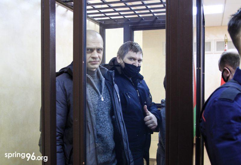 Яўген Разнічэнка і Уладзімір Кніга. Фота: spring96.org