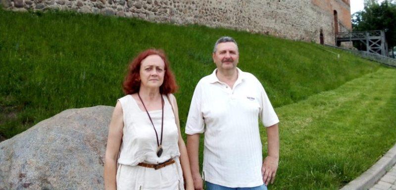 Рэгіна і Станіслаў Беркусы. Фота: Беларускае Радыё Рацыя