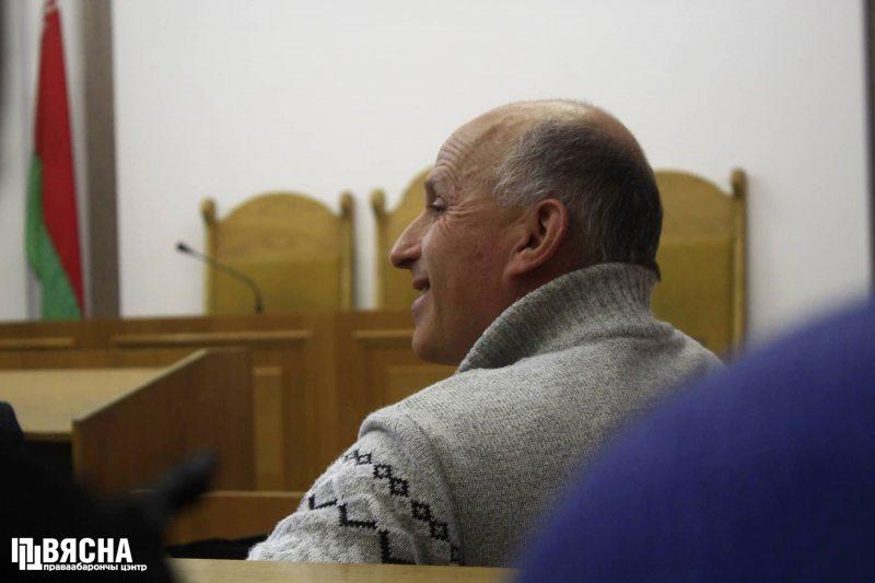 Игорь Комлик в суде 9 ноября