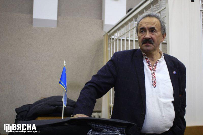 Генадзь Фядыніч у Менгарсудзе. Фота: ПЦ