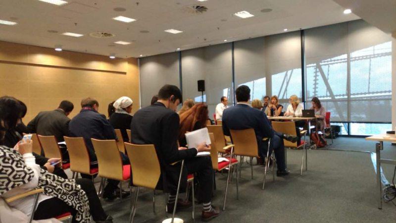 Сайд-івент праваабаронцаў постсавецкіх краінаў у межах канферэнцыі АБСЕ. Варшава, 19 верасня 2017
