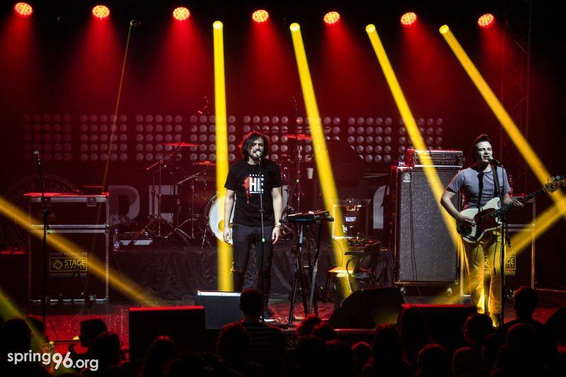 Эрик с группой Luty Sakavik на фестивале