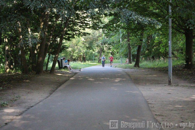Румлёўскі парк. Фота