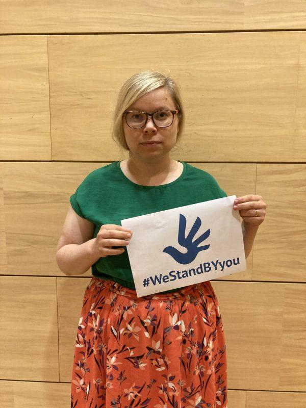 Saara Hyrkkö, member of the Parliament of Finland