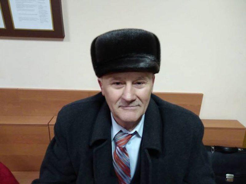 Мікалай Салянік у судзе.