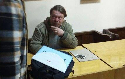 Вадзiм Саранчукоў у судзе