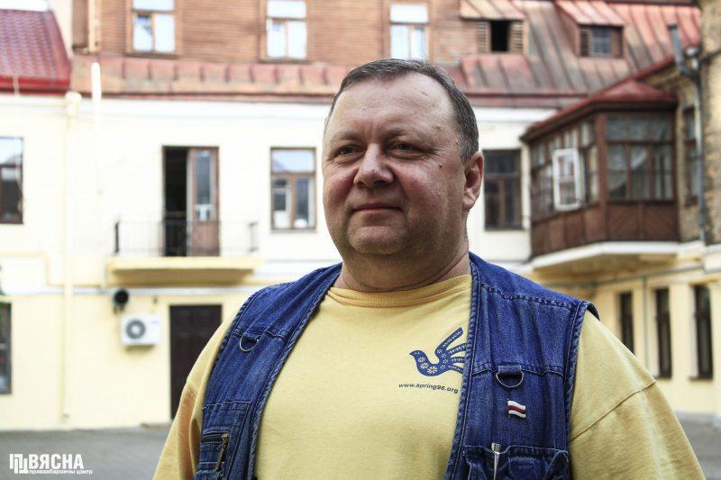 Праваабаронца Віктар Сазонаў. Фота: ПЦ