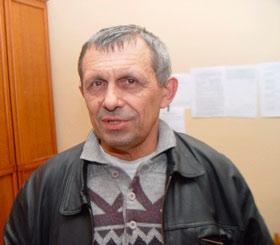 Кіраўнік Магілёўскай абласной арганізацыі АГП Уладзімір Шанцаў