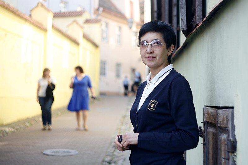 Дзіяна Шаўцова. Фота: humanrightshouse.org