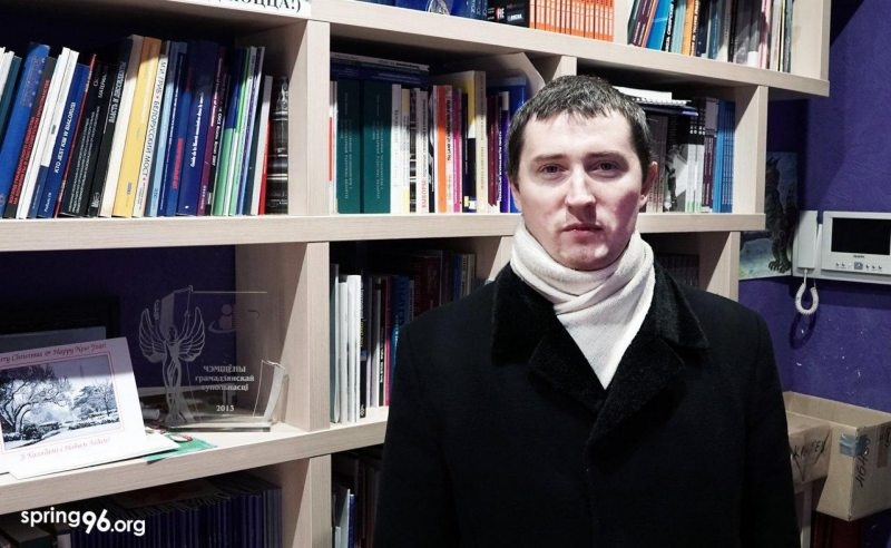 Blogger Dzmitry Kazlou