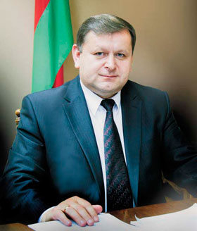 Петр Шостак, председатель Речицкого райисполкома