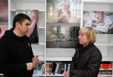 Andrei Paluda and Tamara Sialiun