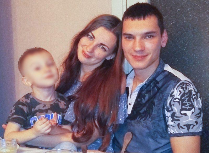 Сергей Леженко с семьей. Фото предоставлено
