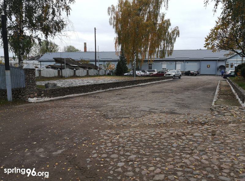 СІЗА горада Баранавічы, дзе таксама адбываюць арышт затрыманыя па артыкуле 23.34 КаАП