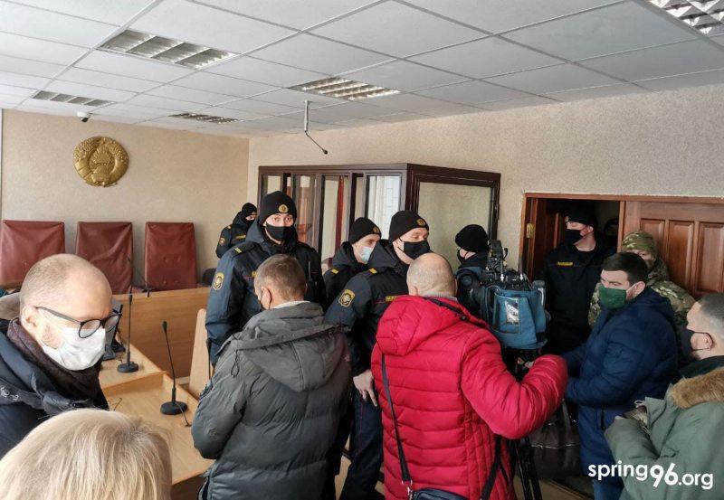 В суде Слуцкого района.