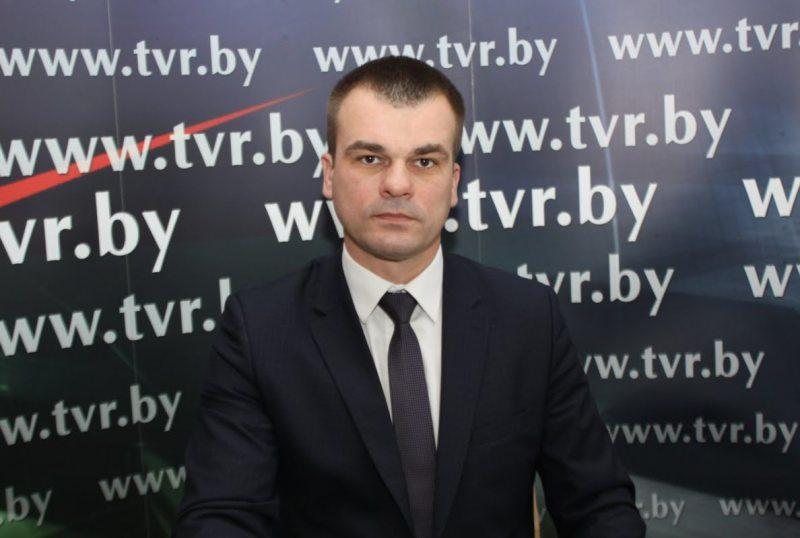 Олег Слижевский. Фото: tvr.by