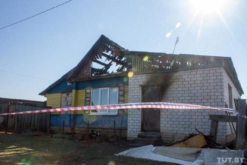 Дом убитой учительницы в Черикове. Фото TUT.BY