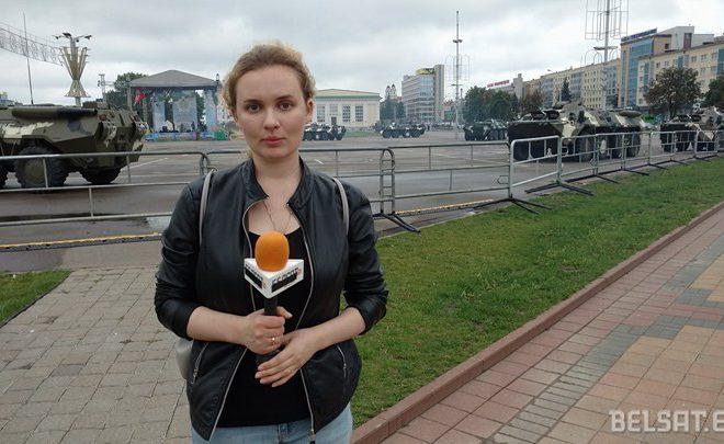 Кацярына Андрэева. Фота: Белсат.